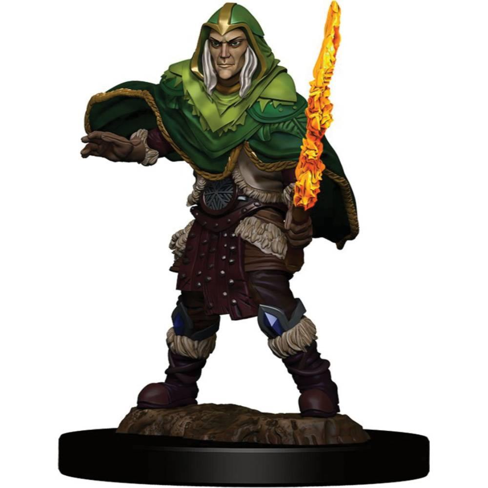 WizKids Pre-Painted Premium Elf Fighter Male