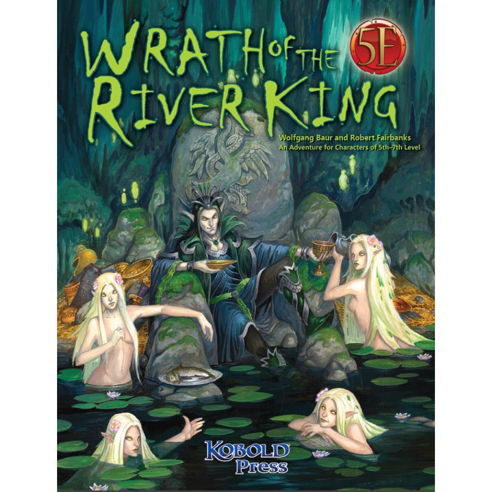 Wrath of the River King Adventure for 5th Edition (Paperback)