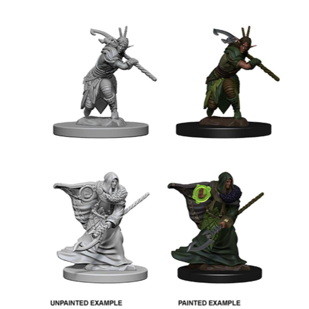 WizKids Unpainted Elf Male Druid (2)