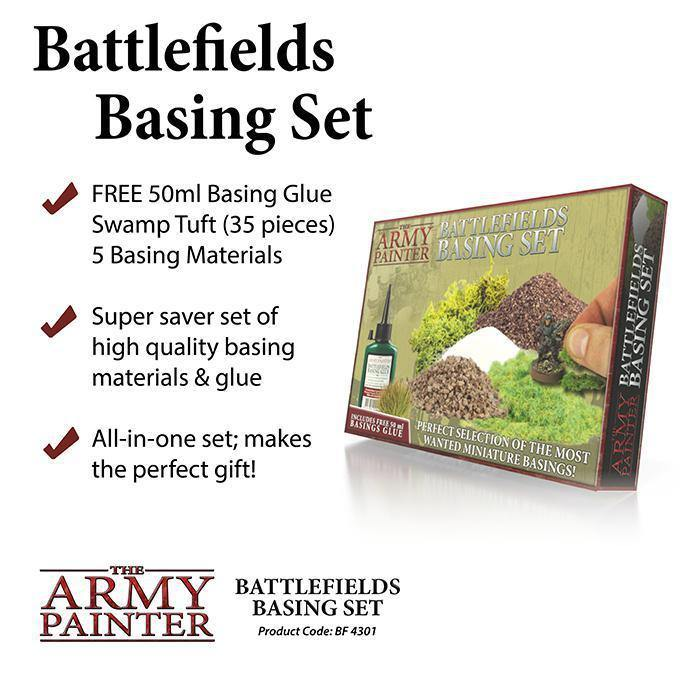Army Painter Hobby Starter: Battlefields Basing Set - The Haunted Game Cafe