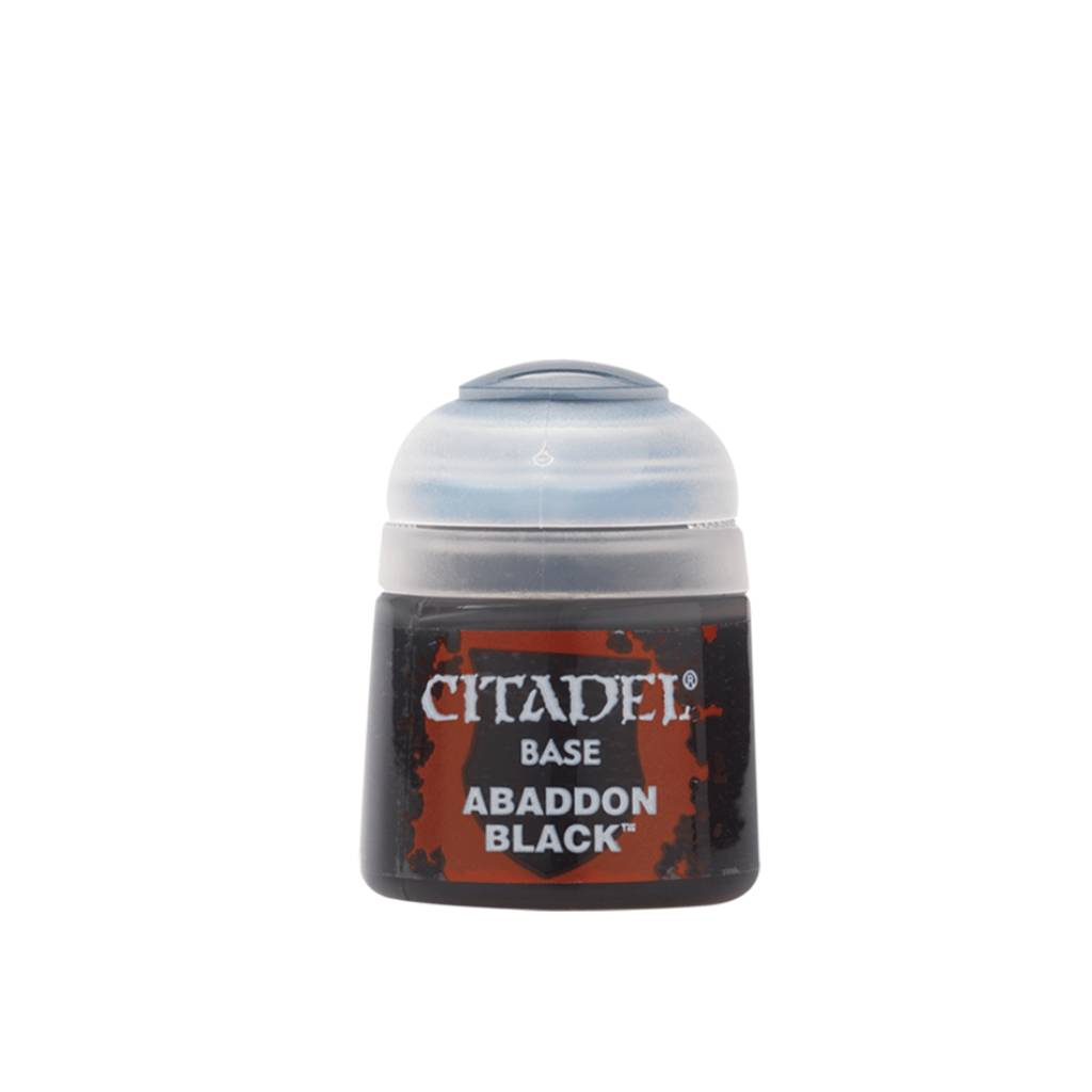 Citadel Base Paints Abaddon Black (12ml)