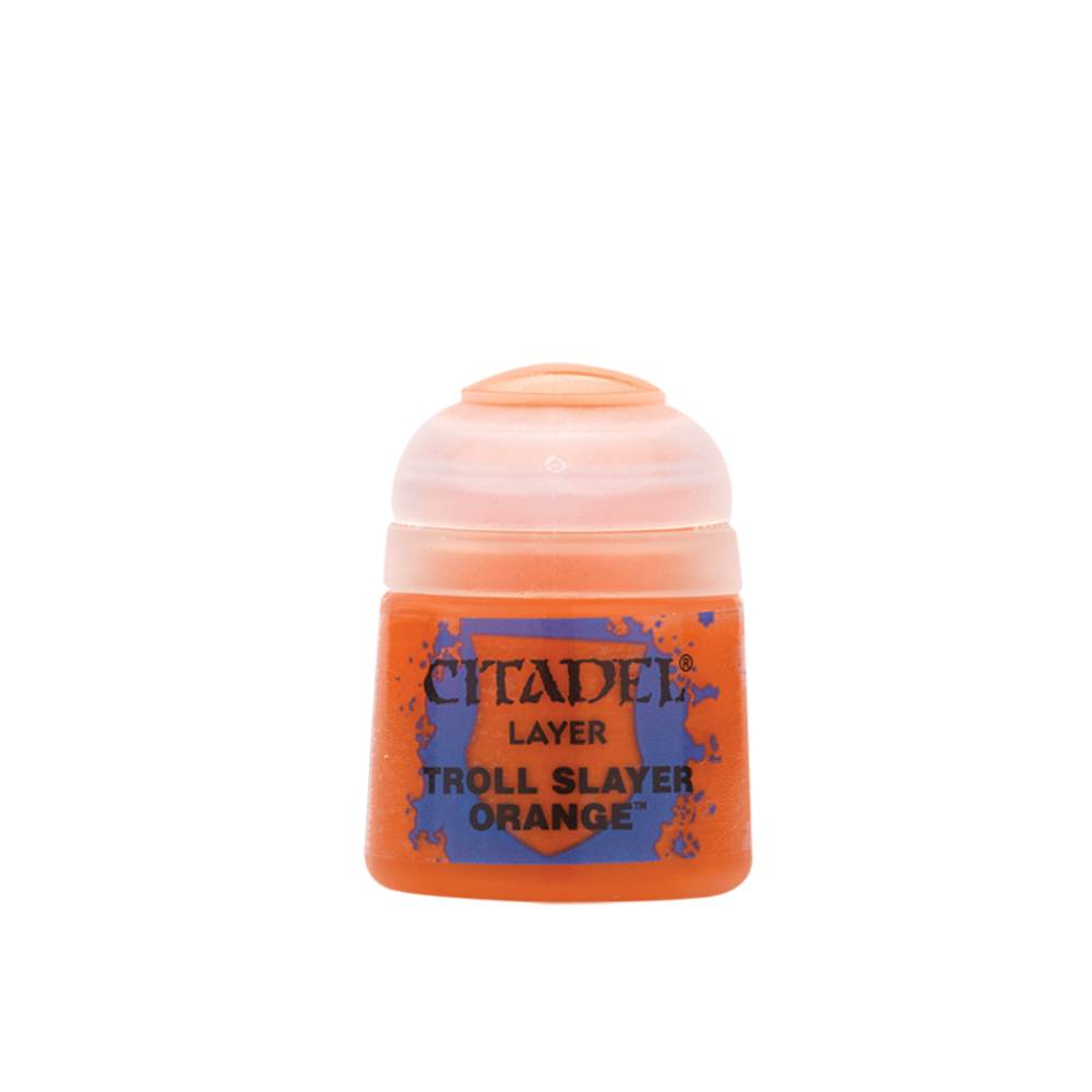 Citadel Layer Paints Troll Slayer Orange (12ml)