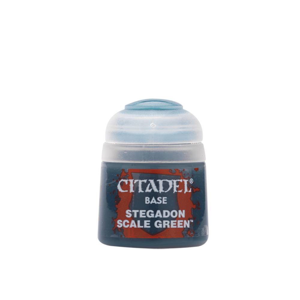 Citadel Base Paints Stegadon Scale Green (12ml)
