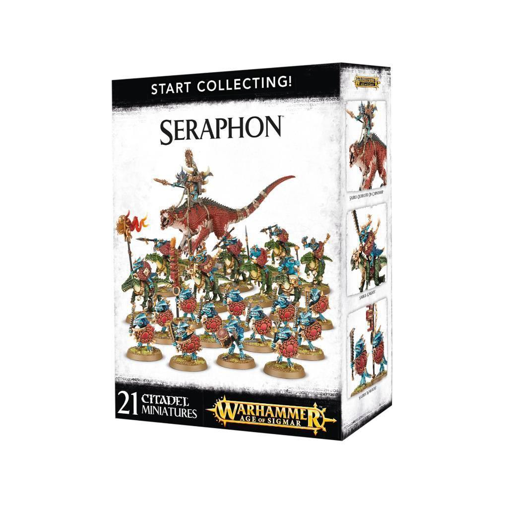 Age of Sigmar Seraphon Start Collecting!