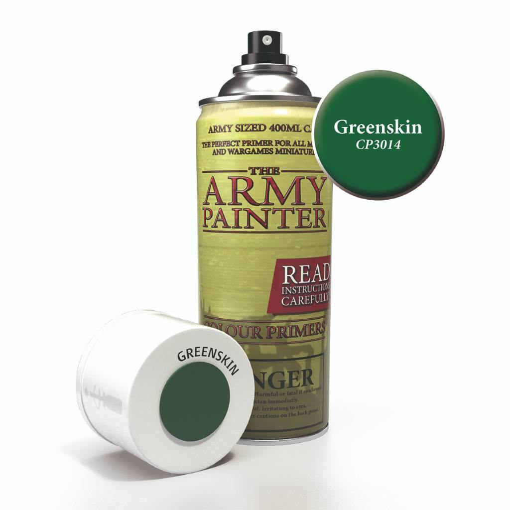 Army Painter Spray Paint Color Primer Greenskin