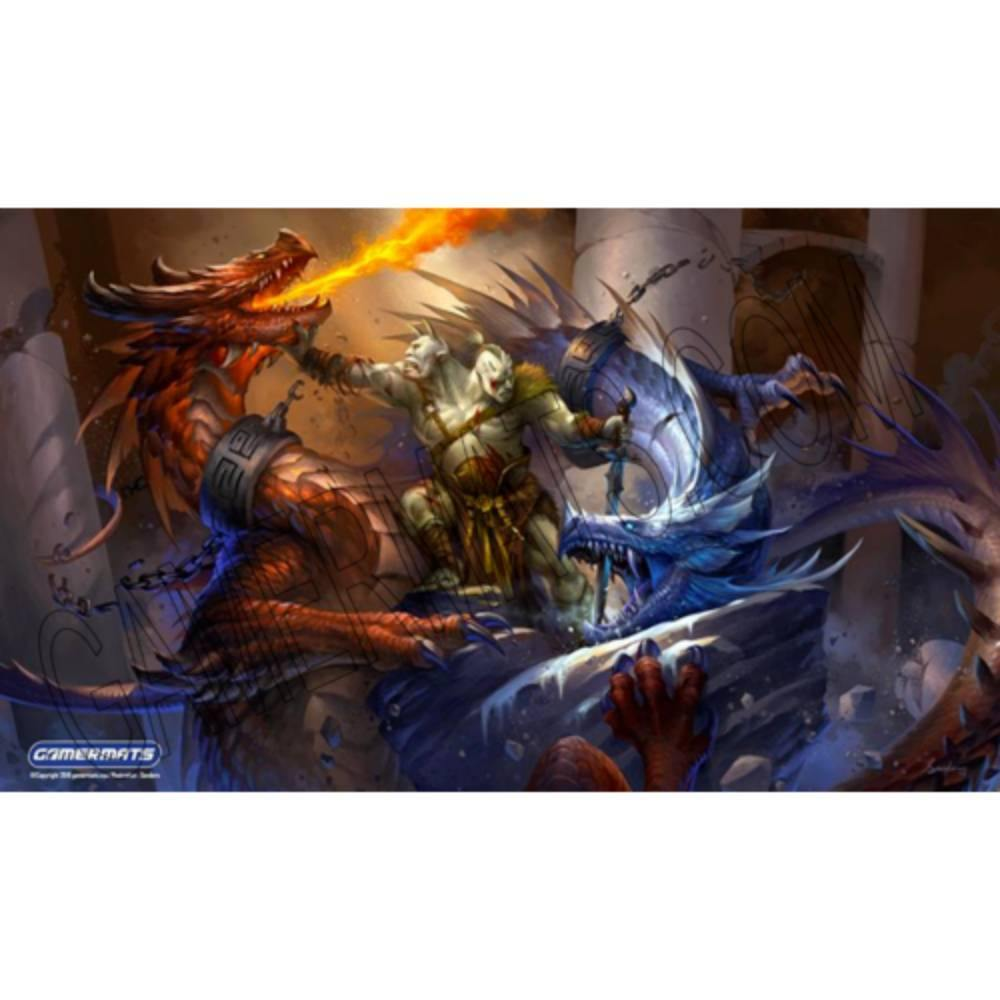 2 Headed Battle Royal by Sandara Playmat - The Haunted Game Cafe