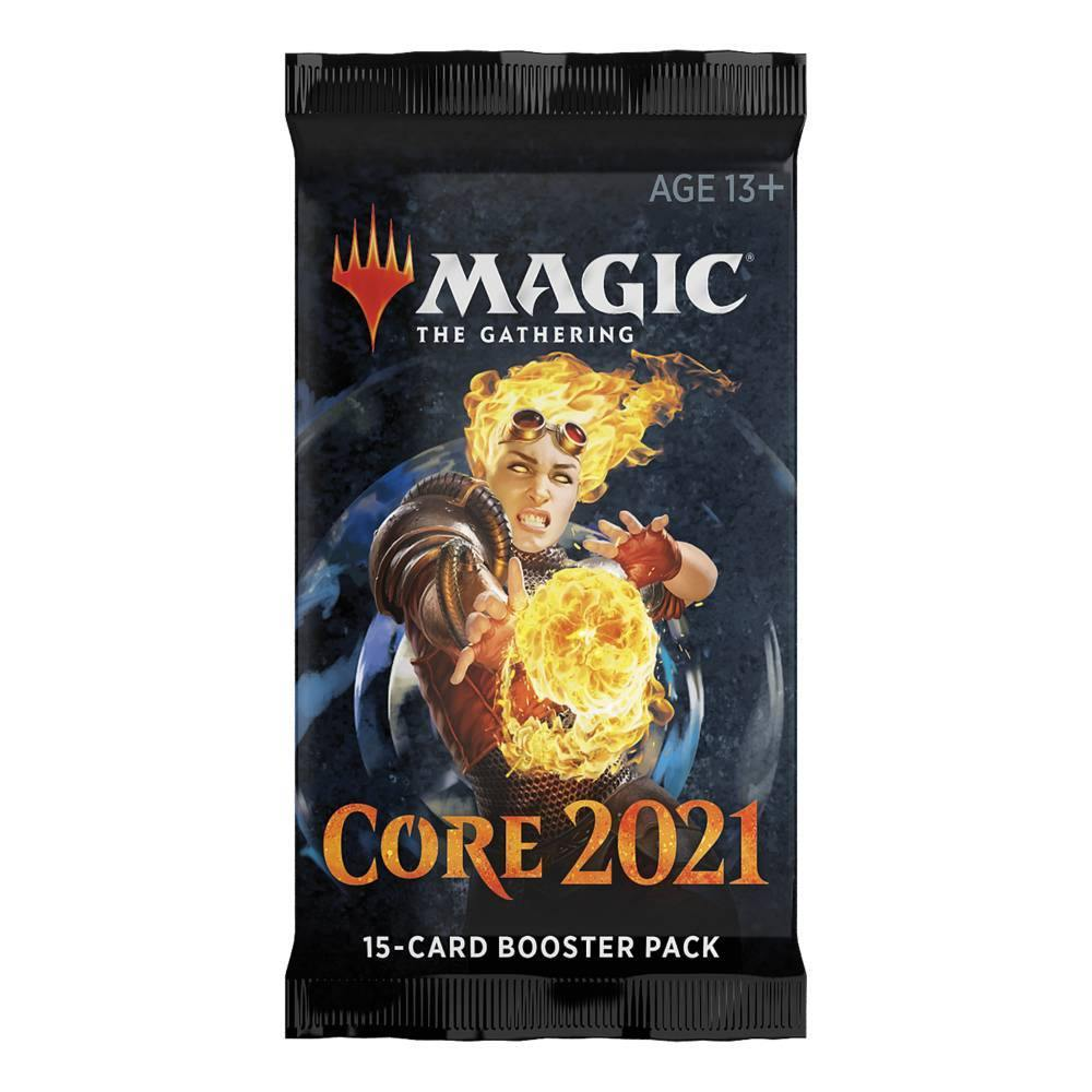 Magic the Gathering: Core 2021 Draft Booster Pack - The Haunted Game Cafe