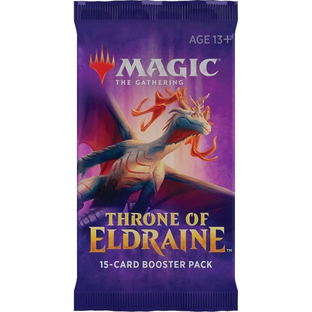 Magic the Gathering: Throne of Eldraine Draft Booster Pack - The Haunted Game Cafe
