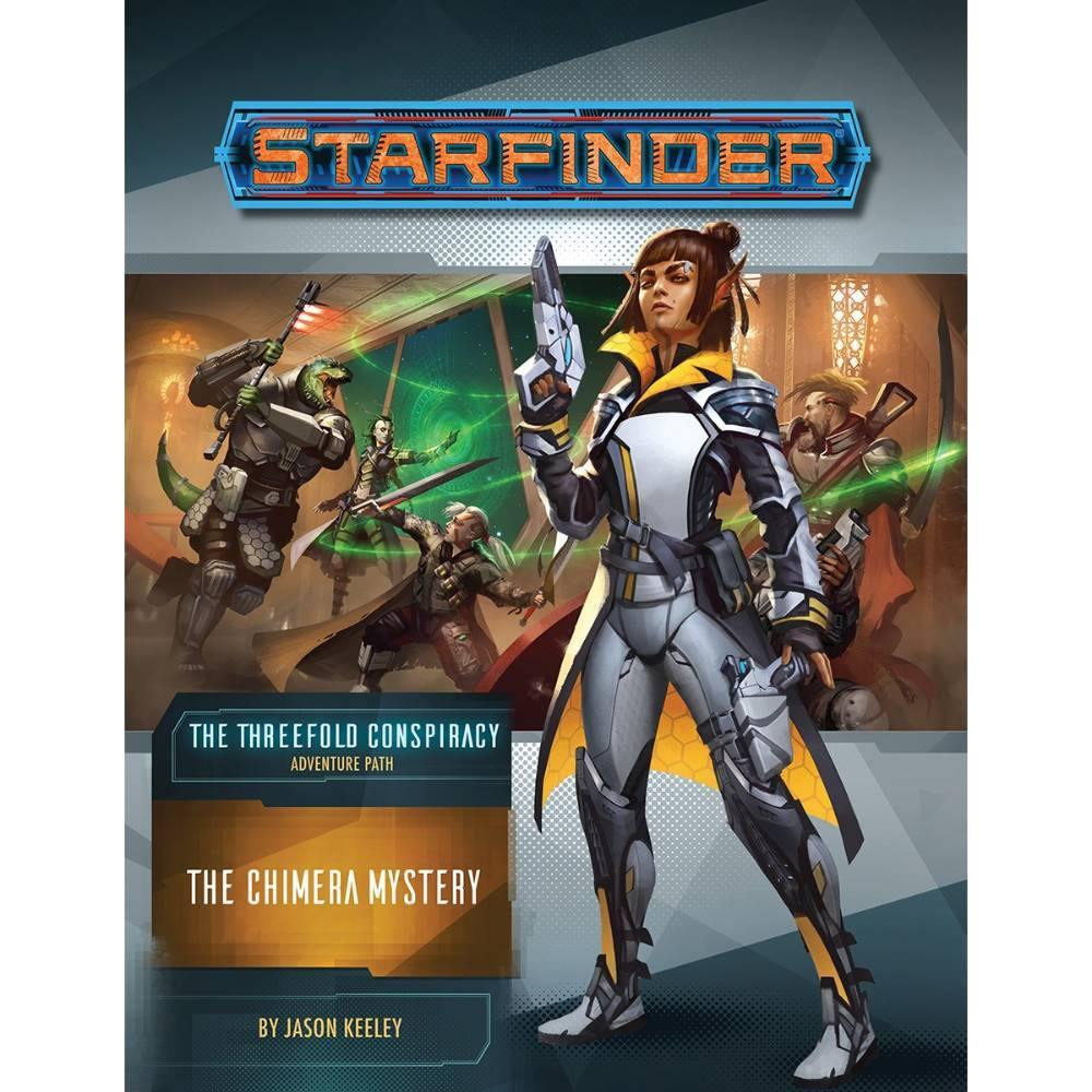 Starfinder RPG Adventure: The Threefold Conspiracy - The Haunted Game Cafe