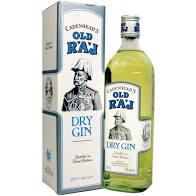 Old Raj Blue Cadenhead'S Gin 55% 750Ml