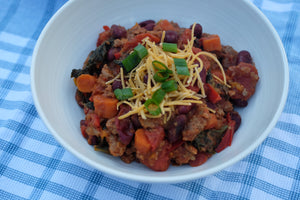 Garden Harvest Turkey Chili