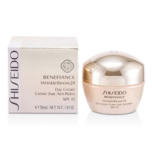 Shiseido Day Care Benefiance WrinkleResist24 Day Cream SPF 15 For Women by Shiseido
