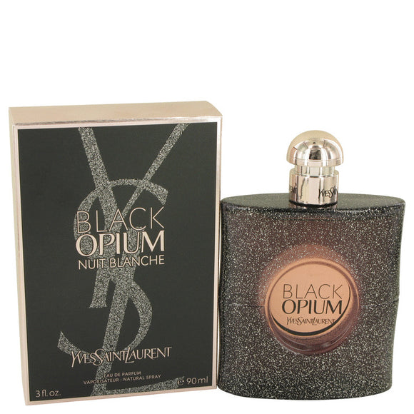 Black Opium Nuit Blanche 3.00 oz Eau De Parfum Spray For Women by Yves Saint Laurent