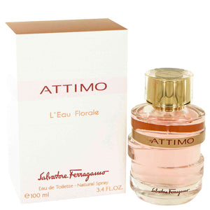 Attimo L`eau Florale 3.40 oz Eau De Toilette Spray For Women by Salvatore Ferragamo