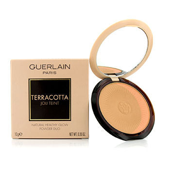 Guerlain Face Care Terracotta Joli Teint Natural Healthy Glow Powder Duo - # 01 Clair/Light Brunettes For Women by Guerlain
