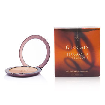 Guerlain Face Care Terracotta 4 Seasons Tailor Made Bronzing Powder - # 04 Moyen - Blondes For Women by Guerlain