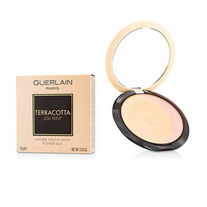 Guerlain Face Care Terracotta Joli Teint Natural Healthy Glow Powder Duo - # 00 Clair/Light Blondes For Women by Guerlain