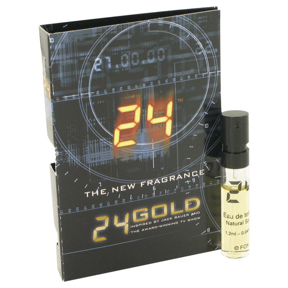 24 Gold The Fragrance 0.06 oz Vial (sample) For Men by ScentStory