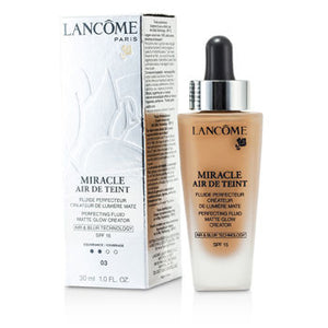 Lancome Face Care Miracle Air De Teint Perfecting Fluid SPF 15 - # 03 Beige Diaphane For Women by Lancome