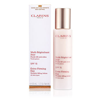 Clarins Day Care Extra-Firming Day Wrinkle Lifting Lotion SPF 15 (All Skin Types) For Women by Clarins