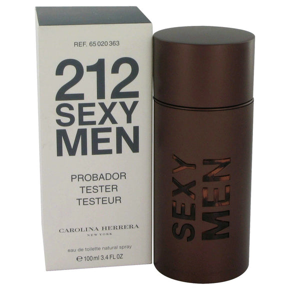 212 Sexy 3.30 oz Eau De Toilette Spray (Tester) For Men by Carolina Herrera