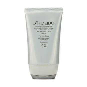 Shiseido Face Care Urban Environment UV Protection Cream SPF 40 (For Face & Body) For Women by Shiseido