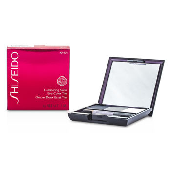 Shiseido Eye Care Luminizing Satin Eye Color Trio - # GY901 Snow Shadow For Women by Shiseido