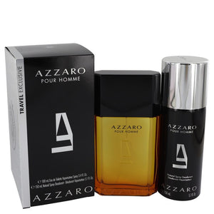 AZZARO 0.00 oz Gift Set  3.4 oz Eau De Toilette Spray + 5.1 oz Deodorant Spray For Men by Azzaro