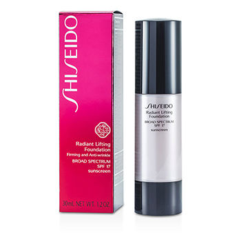 Shiseido Face Care Radiant Lifting Foundation SPF 17 - # D20 Rich Brown For Women by Shiseido