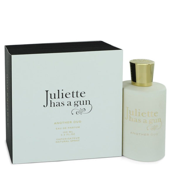 Another Oud 3.40 oz Eau De Parfum spray For Women by Juliette Has a Gun