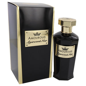 Agarwood Noir 3.40 oz Eau De Parfum Spray (Unisex) For Women by Amouroud