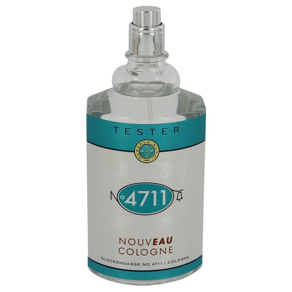 4711 Nouveau 3.40 oz Cologne Spray (Unisex Tester) For Men by Maurer & Wirtz
