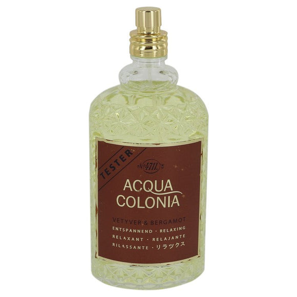 4711 Acqua Colonia Vetyver & Bergamot 5.70 oz Eau De Cologne Spray (Unisex Tester) For Women by Maurer & Wirtz