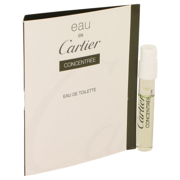 Eau De Cartier Vial Concentree (sample) For Men by Cartier