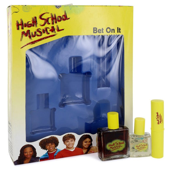 High School Musical Gift Set  1 oz Cologne Spray + .5 oz Pocket Spray + .25 oz Shimmer Stick For Women by Disney