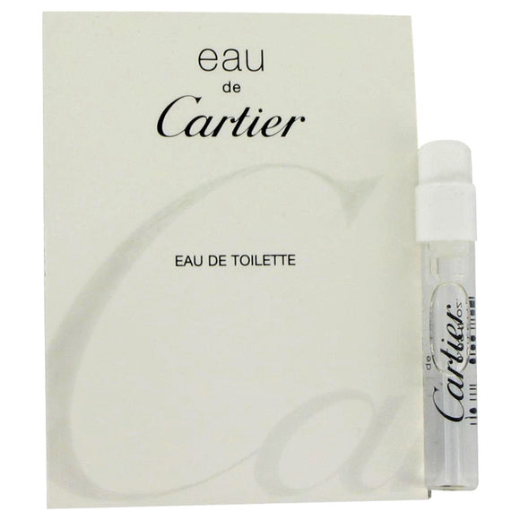 Eau De Cartier Vial (Unisex sample) For Men by Cartier