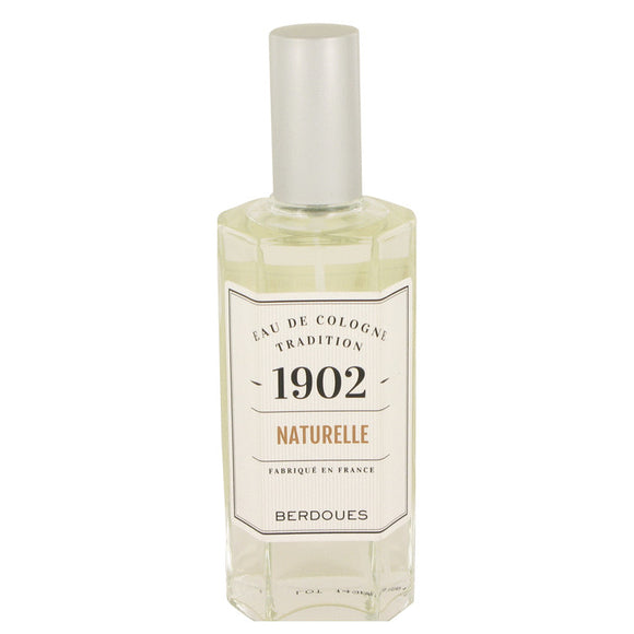 1902 Natural 4.20 oz Eau De Cologne Spray (Unisex Tester) For Men by Berdoues