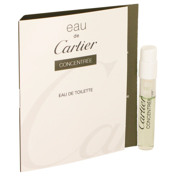 EAU DE CARTIER Vial Concentree (sample) For Women by Cartier