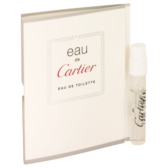 Eau De Cartier Vial (sample) For Women by Cartier