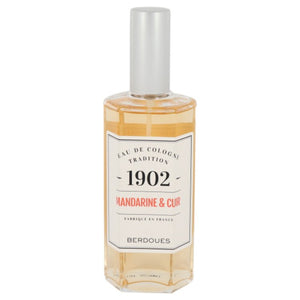 1902 Mandarine Leather Eau De Cologne (Unisex Tester) For Men by Berdoues