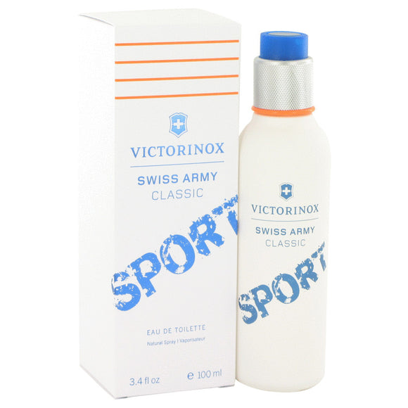 Swiss Army Classic Sport Eau De Toilette Spray For Men by Victorinox
