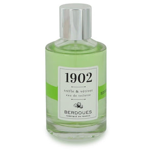 1902 Trefle & Vetiver 3.38 oz Eau De Toilette Spray (Tester) For Women by Berdoues