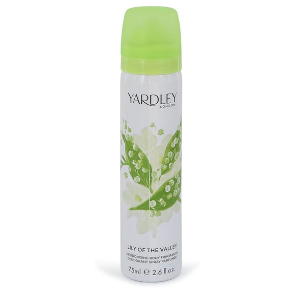 Lily of The Valley Yardley Body Spray For Women by Yardley London