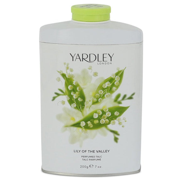 Lily of The Valley Yardley Pefumed Talc For Women by Yardley London