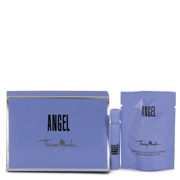 ANGEL EDP Vial (Sample) + Free 0.35 Body Lotion For Women by Thierry Mugler