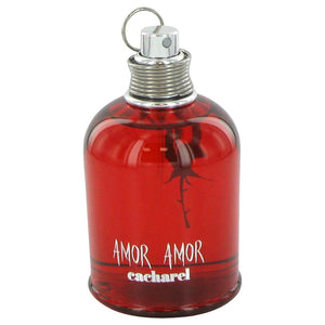 Amor Amor 3.40 oz Eau De Toilette Spray (Tester) For Women by Cacharel