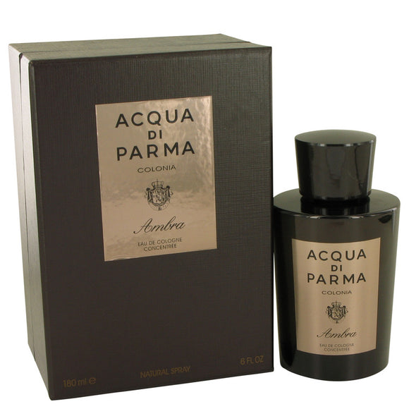 Acqua Di Parma Colonia Ambra 6.00 oz Eau De Cologne Concentrate Spray For Men by Acqua Di Parma