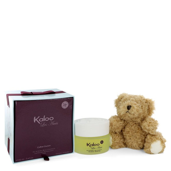 Kaloo Les Amis Eau De Senteur Spray / Room Fragrance Spray (Alcohol Free) + Free Fluffy Bear For Men by Kaloo
