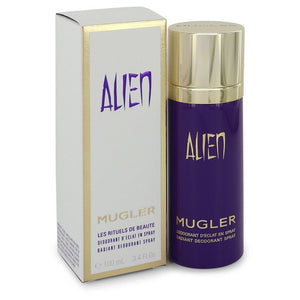 Alien 3.40 oz Deodorant Spray For Women by Thierry Mugler