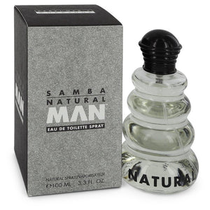 SAMBA NATURAL Eau De Toilette Spray For Men by Perfumers Workshop